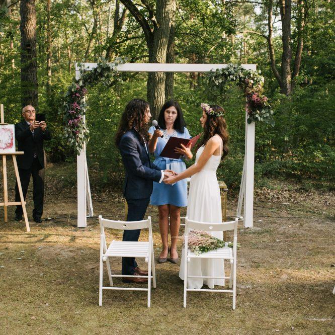 ślub w plenerze - mazowieckie